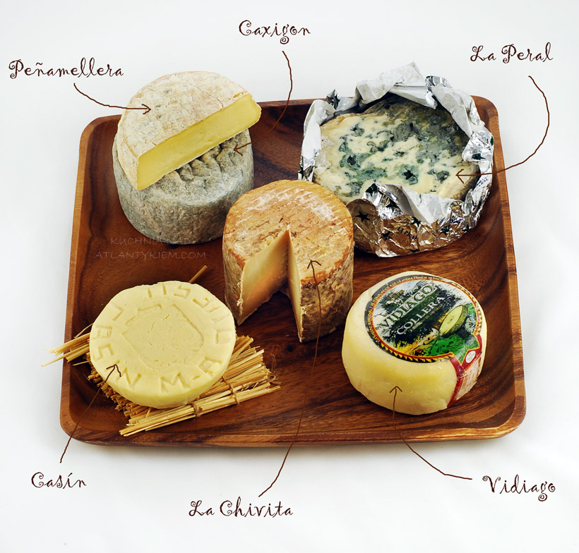 Cheeses from the Northern Spain