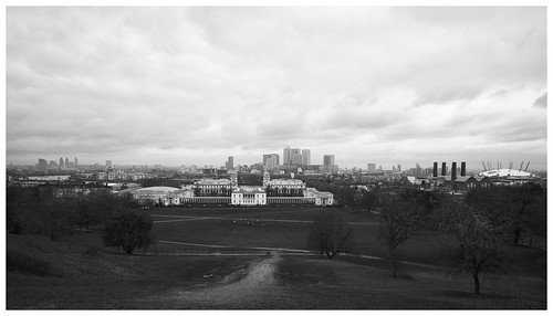 Daily Photo: 13/01/2011 – London Skyline from Greenwich Park