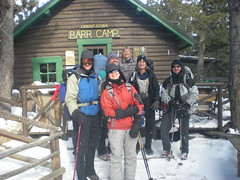Leaving Barr Camp
