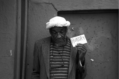 Richard Nagler, Hungry, Berkeley, California, February 1994