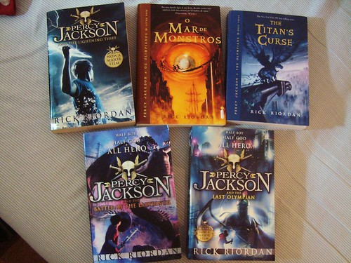 a comparison of collections and the lightning thief a novel by rick riordan Perseus percy jackson is a fictional character, the title character and narrator of  rick  crossover stories, part of the demigods and magicians collection  in the  first novel of the series, the lightning thief, he is twelve years old.