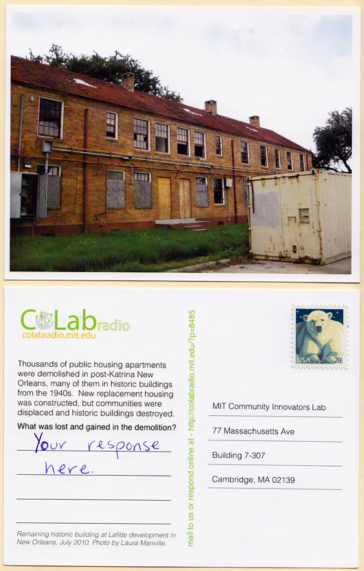 Postcard Questions on CoLab Radio