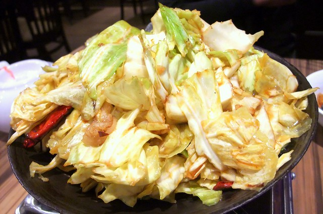 Sizzling Cabbage