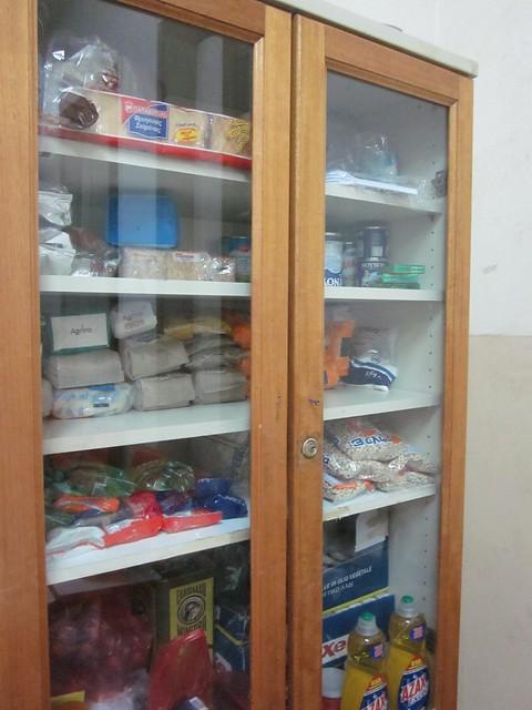 Squat food closet
