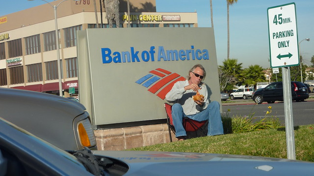 Mike and the Bank of America