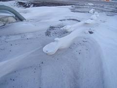 Raised Footprints -13- (Alan R. Light) Tags: footprints antarctica erosion cantilevered mcmurdo rossisland mcmurdostation winderosion raisedfootprints