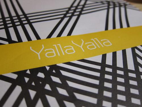 Yalla Yalla, Winsley Street