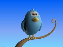 bird 3dmodel twitter