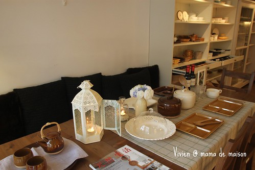 mama de maison 的餐桌佈置