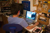 Eamon playing Starcraft II by Joi, on Flickr