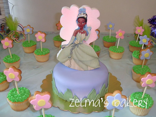 The Princess and the Frog Cake - 1 Tier