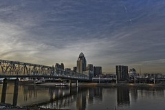 Cincinnati HDR (Collin_Photography) Tags: ohio clouds canon kentucky cincinnati newport hdr edp justclouds