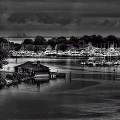 Harbor impression #3 (louieliuva) Tags: blackwhitephotos
