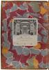Marbled endpaper of  Paiellus, Guglielmus: Congratulatio pro patria ad Nicolaum Tronum (and 3 other incunabula)