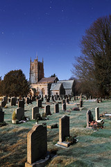 By the moonlight (Ren A) Tags: moon church cemetery graveyard canon full moonlit midnight moonlight churchyard wiltshire avebury flickrfriday 1740mml 5dmkii 5dmk2