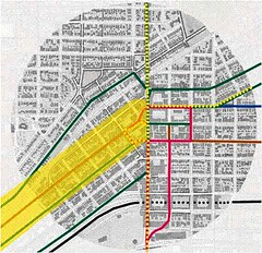 Five Points, BRT line in yellow (from Connecting El Paso)