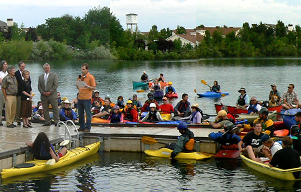 Boise, ID - Rally at Handicap Accessible Dock - Quinn's Pond