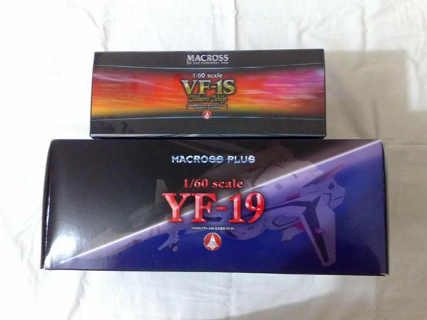 1/60 YF-19 Yamato Toys Box Shots
