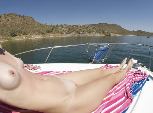 dreams naked in outdoor public nudity pics: topless, sunbathing, naked, nude, boat, breasts, nudist