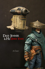 Dass Jennir and H2 - Star Wars: Dark Times 7 (sith_fire30) Tags: sculpture horse art dark star george blog comic action lucasfilm aves lord lucas darth r2d2 empire figure epoxy jedi stormtrooper imperial series times hunter wars clint vader spaghetti custom universe h2 bounty sith acrylics emperor c3po lucasarts eastwood galactic creations sculpts dass driod fixit expanded westerns jennir sithfire30