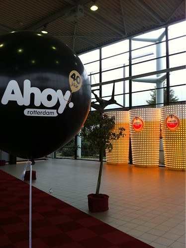 Cloudbuster Rond Ahoy Rotterdam Amstel Live