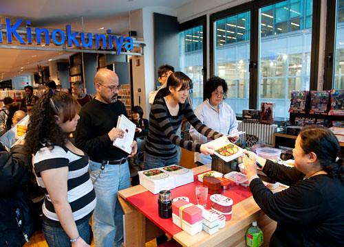Book signing at Kinokuniya NY