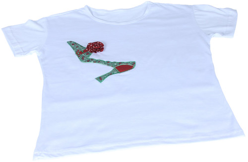 Camiseta Aplicada Scarpan by PARANOARTE