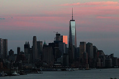 Sunset on west Manhattan_4739 (ixus960) Tags: nyc newyork america usa manhattan city mégapole amérique amériquedunord ville architecture buildings nowyorc bigapple