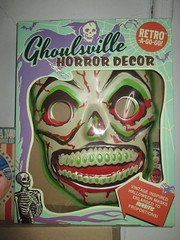 Green Grinning Skull Mask 6209 (Brechtbug) Tags: green grinning skull mask halloween semi vintage with regular sized uncle sam box ben cooper collegeville halco ghoulsville retro newspaper sunday funnies comics holiday costume comic strip book comicbook spy movie film cinema americana america freedom justice super hero spooky jumbo size