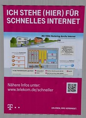 Promises, promises! Nothing is true - if you live in Brden! (:Linda:) Tags: germany thuringia village veilsdorf ad internet telekom promise