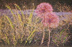 Two Of Us (michael.veltman) Tags: two of us acrylic paint painting giclee print flower life art gallery lockport illinois happy birthday