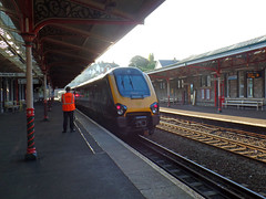 Unknown Voyager, Teignmouth (Marky7890) Tags: xc 220000 class220 voyager 1v57 teignmouth railway station devon train