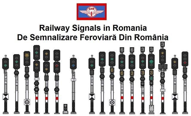 Romanian Railway Signals