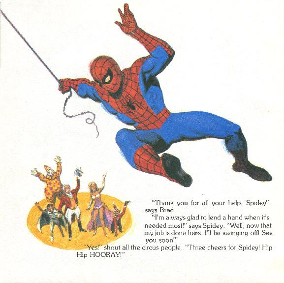 Spider-Man - The Big Top Mystery035