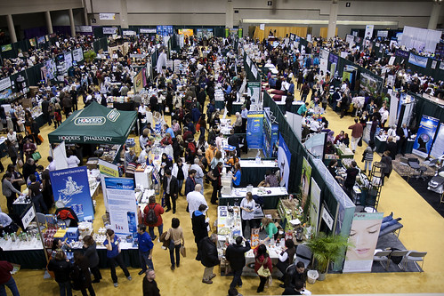 The Expo's Main Exhibit Hall