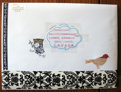 decorated swap envelope