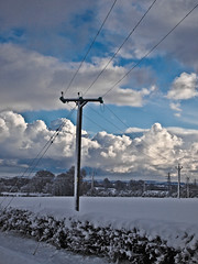 Snowy Field (CWhatPhotos) Tags: olympus penn elp1 1442mm kit esystem four thirds digital camera cwhatphotos mzuiko zuiko lens pictures picture photo photos image images foto fotos that have which contain taken epl1 snow winter snowing snowy white sacriston county durham time north east cold freeze ice snowed england uk weather heavy deep prolonged november nov 2010 dec december pen olympuspen retro look flickr