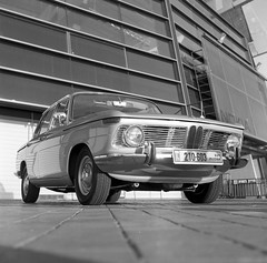 BMW 1500 (Ilya.Bur) Tags: classic 120 6x6 film car analog kodak tmax hc110 400 bmw medium format 1500 yashicad yashinon 3580mm worldcars