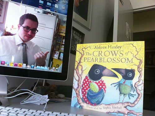 The first copy of The Crows of Pearblossom just arrived!