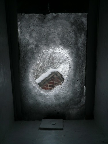thawing stairs window