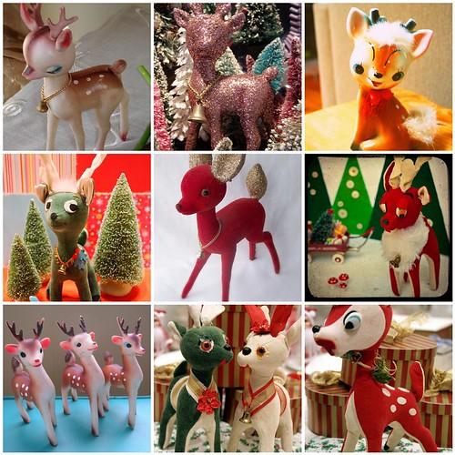 vintage reindeer faves by selina's vintage