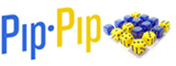 pip•pip by daniel solis is a game of conversion and compromise. convert dice to your color, but be sure they're worth it!