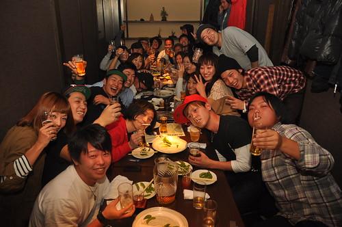 2010/12/4 忘年会@ガジャ