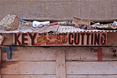 New Millenium (Meanest Indian) Tags: africa keys graphic kenya nairobi enterprise slum typographic keycutting mathare