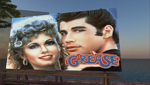 GREASE! in Second Life