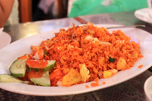 Sambal Fried Rice at King Satay