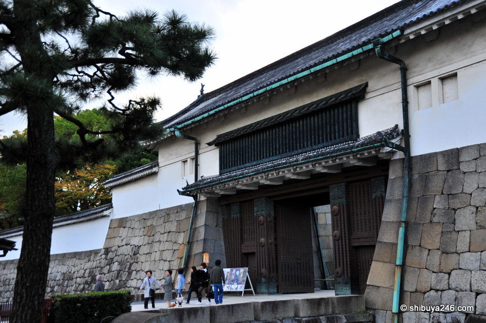 The outer entrance to Nijo Castle