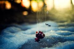 (Gabriel Asper) Tags: girls boy snow ex water girl rain st night 35mm canon eos switzerland melting keyring suisse geneva dream mini drop 1d mk2 snowing nightmare f2 genve 550ex nightmares 550 genf e2 ste2 strobist strobism vieusseux