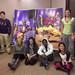 MUSF students: Alex Owens, Jimmy Laria, Samantha Brown, Erica Kallergis, Tristan Overton, Nga Pham, Leigh Pieterick, Patrick Gray