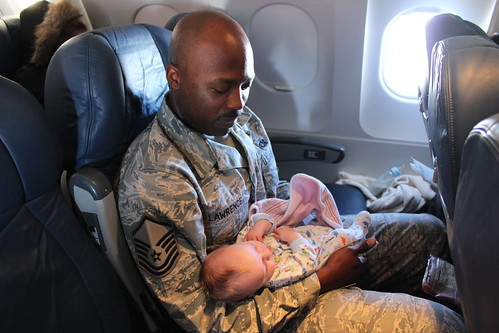 Airman and Baby
